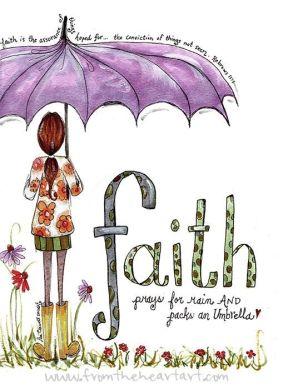 umbrella faith