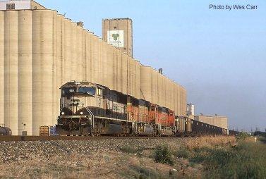 train silo